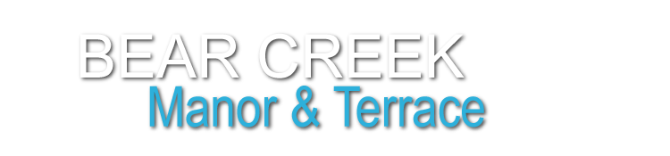 Bear Creek Manor and Bear Creek Terrace logo